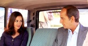 هشام سليم مع منة شلبي في مسلسل حرب الجواسيس