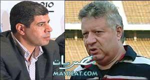خناقة بين احمد شوبير و مرتضى منصور على فيلم جنسي