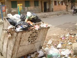 ازمة الزبالة