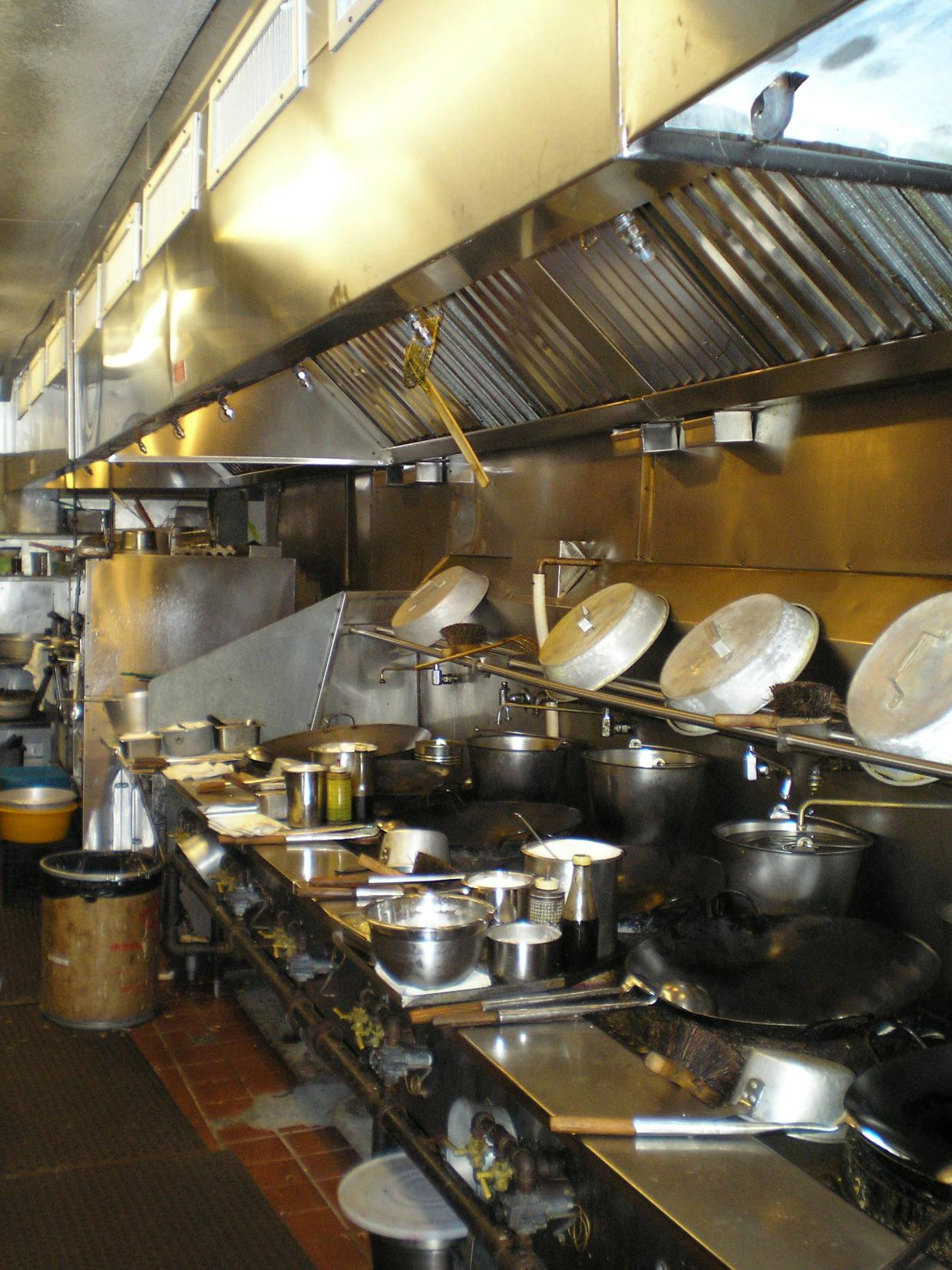 commercial cooking exhaust system