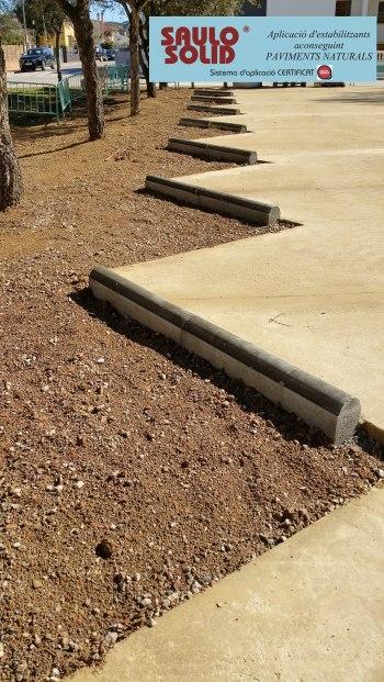 Paviment terra estabilitzada SAULO SOLID Quart09