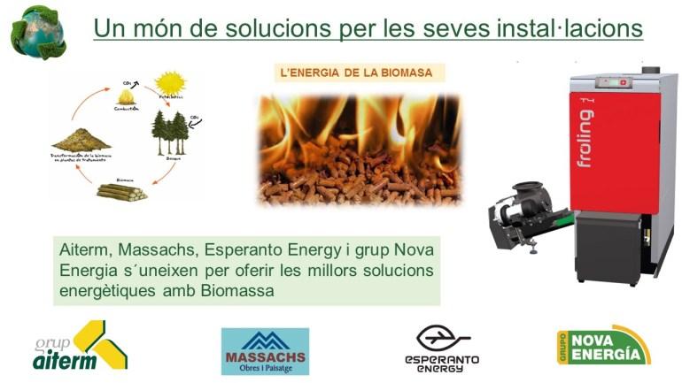 Agrupació empreses ENERGIA DE LA BIOMASA - Massachs Obres i Paisatge slu