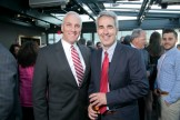 From left: Christopher A. Kenney with John DiNatale