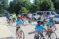Photos of Mattapan on Wheels 2018. Courtesy: Mattapan Food and Fitness Coalition and Mattapan on Wheels.