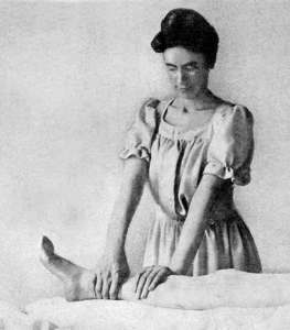 nurse masseuse