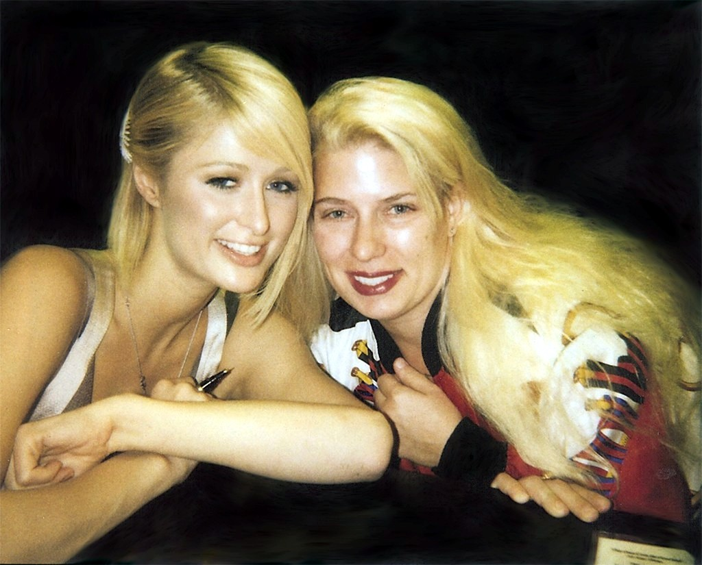 Paris Hilton and Deborah Alexis Daoud