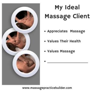 ideal massage clients