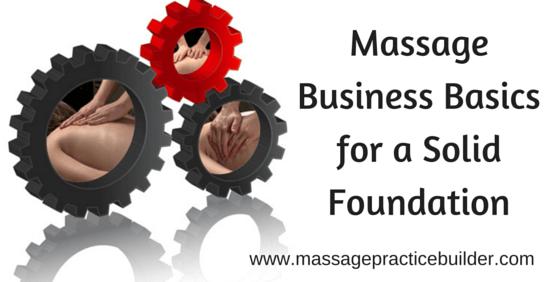 Massage Business Basics1
