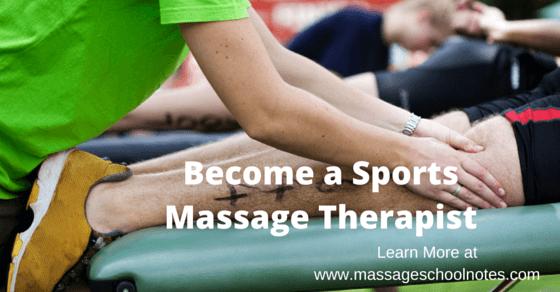 Become a Sports Massage Therapist