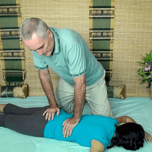 Thai back massage