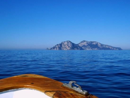 Capri da barca