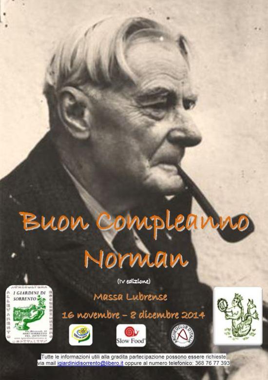 Buon compleanno Norman