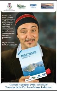 Paolo Caiazzo Brochure turisctica - Massa Lubrense Il paradiso è qui - Pro Loco Massa Lubrense 2015