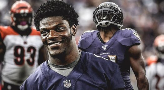 "Ravens quarterback Lamar Jackson got ""crowned"" league MVP ..."