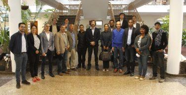 El presidente del Cabildo recibe a una delegación de Cabo Verde para iniciar el proceso de asesoramiento en la obtención del sello Reserva de la Biosfera y Geoparque Mundial de la Unesco para la Isla de Fogo