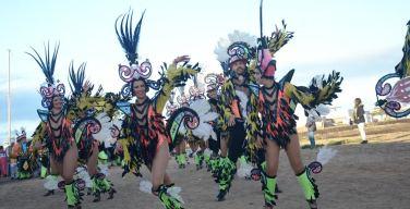 La Graciosa despide el Carnaval de Teguise 2017