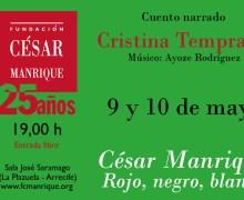La FCM programa un espectáculo sobre César Manrique para escolares, creado e interpretado por Cristina Temprano