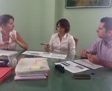 La alcaldesa de Arrecife recibe a los representantes del taller educativo PlayEnergy