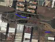A partir del lunes 21 de agosto la entrada a Arrecife por la Lz-3 dirección a la calle León y Castillo se verá afectada por obras de renovación de tuberías