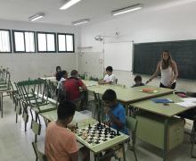 Un total de 84 jóvenes participaron en el programa de refuerzo escolar de verano en San Bartolomé