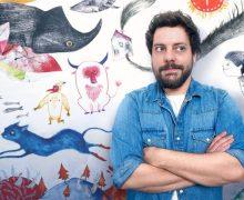 El universo del ilustrador Adolfo Serra aterriza en la Escuela de Arte Pancho Lasso