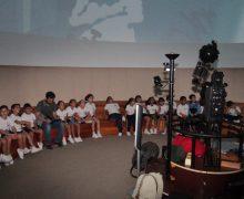 Arrecife acerca a los escolares al mundo de la producción cinematográfica para planetarios