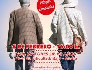 El Cabildo de Lanzarote organiza, para el lunes 5 de febrero, un paseo entre Conil y La Candelaria reservado a mayores de 60 años