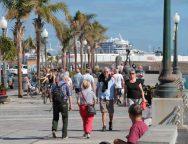 Récord de cruceros este fin de semana en Arrecife