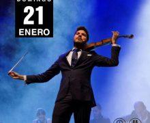 El violinista cordobés Paco Montalvo actuará el próximo 21 de enero en el Teatro Atlántida de Arrecife