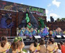 Puerto del Carmen vive un apoteósico fin de semana con el Coso y el Carnaval de Día