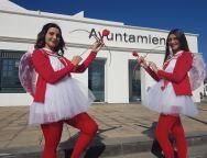 La Zona Comercial Abierta de Tías  'enamora' por el Día de San Valentín