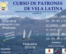 La Federación Insular de Vela Latina empieza a realizar cursos para federados