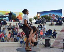 El Festival Títiri Tías llena la Plaza El Pavón de buen ambiente familiar
