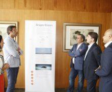 El Cabildo de Lanzarote y la compañía líder en sistemas energéticos 'Enzen' explorarán el interés y la viabilidad de desarrollar en la isla un proyecto piloto de energía eólica Offshore