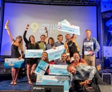El equipo formado por Arturo Telle y Davinia Hernández conquista la novena edición del Open Fotosub Lanzarote Mar de Lava