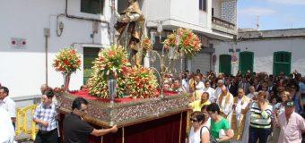La procesión de San Ginés obliga a la cancelación del mercado agrícola del sábado 25 de agosto