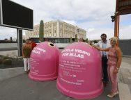 El Cabildo de Lanzarote y el Ayuntamiento de Arrecife presentan la campaña de Ecovidrio 'Recicla Vidrio por ellas'