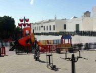 San Bartolomé continúa ampliando y mejorando sus espacios de ocio con la apertura del parque de Los Roques