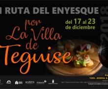 Arranca la primera Ruta del Enyesque en Teguise, un recorrido por la gastronomía local
