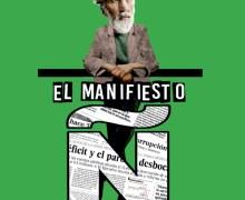 Manuel M. Almeida presenta su novela El manifiesto Ñ en la Casa de la Cultura Agustín de la Hoz