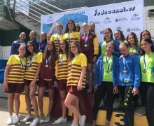 Pingüinos del RCNA campeonas de Canarias en categoría Máster