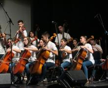 El exitoso proyecto 'Barrios Orquestados' busca jóvenes músicos en el CEIP Los Geranios de Altavista