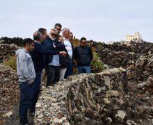 El Ayuntamiento de Haría presenta el nuevo proyecto agroambiental de la finca Los Lajares