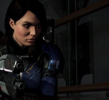 Ashley Williams in Mass Effect 3