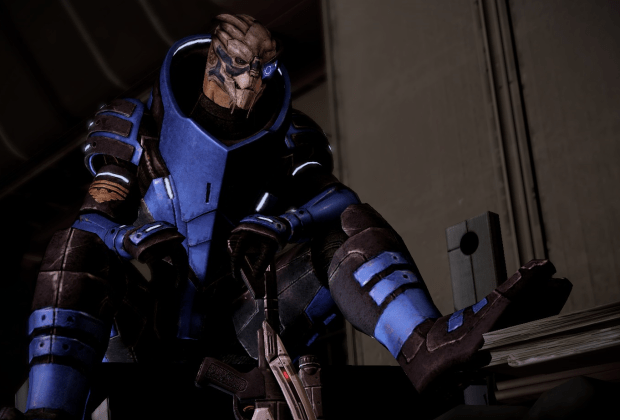 Garrus Vakarian auf Omega in Mass Effect 2