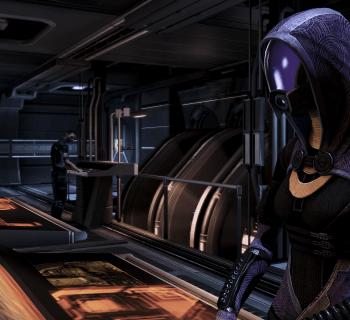 Tali in Mass Effect 3