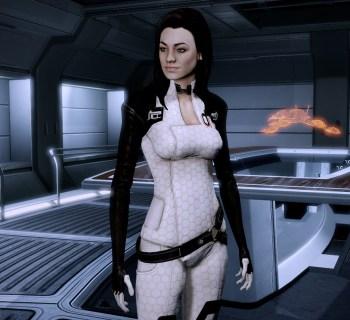 Miranda Lawson in Mass Effect 2