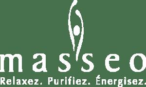 Logo masseo - clinique de massothérapie à Québec