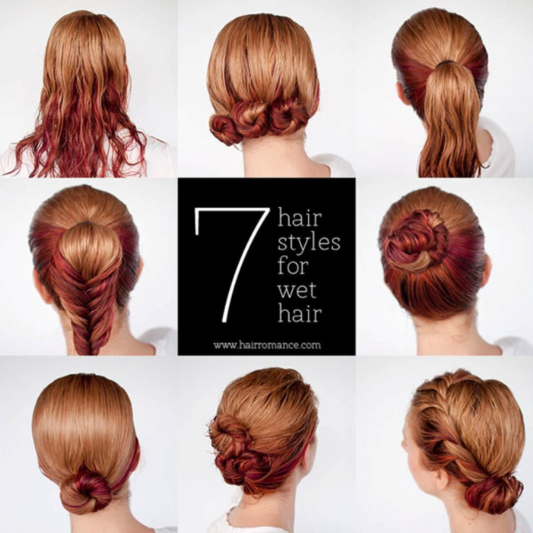 Hair-Romance-7-hairstyle-tutorials-you-can-do-in-wet-hair