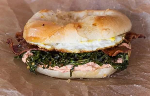 Bialy Sandwich